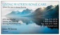 Living Waters Home Care